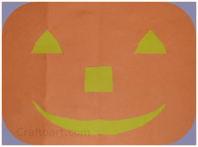 Simple Paper Jack-O-Lantern