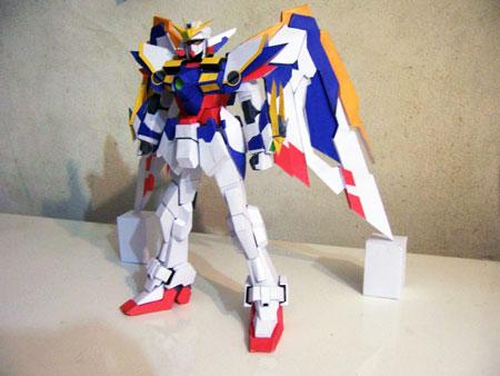 Wing Gundam Papercraft Ver. Ka