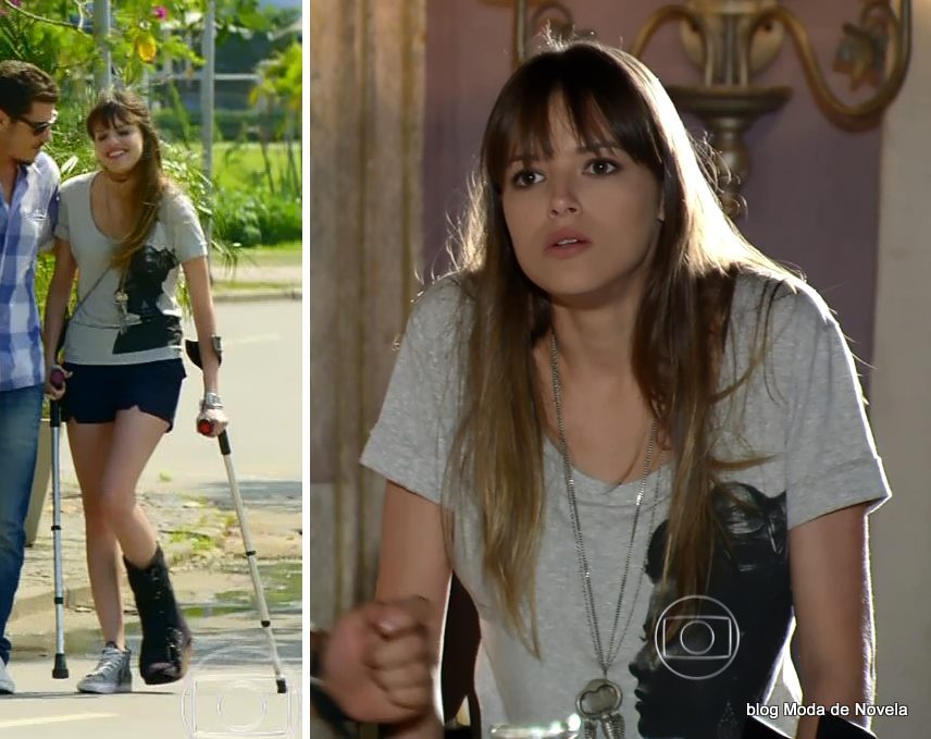 moda da novela Em Família - look da Gisele