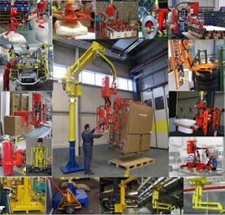 Cánh tay robot nâng hàng Dalmec Italy