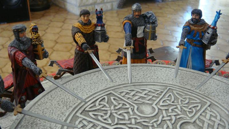 Les chevaliers de la table ronde chretien de troyes 28 - Lancelot chevalier de la table ronde ...