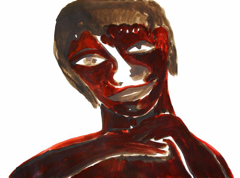 seigneur notre retraite (in brown-red) ~ frank waaldijk