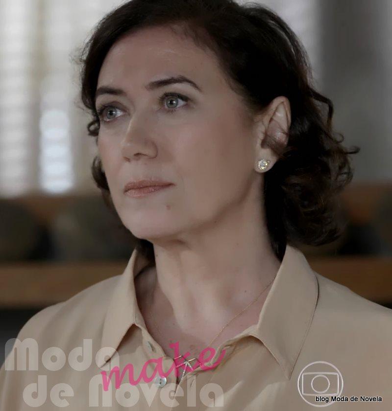 moda da novela Império - maquiagem da Maria Marta dia 6 de agosto