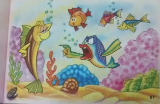 El pez marino y el fluvial