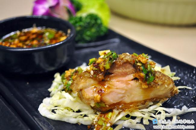 泰炘泰式料理椒麻雞的沾醬