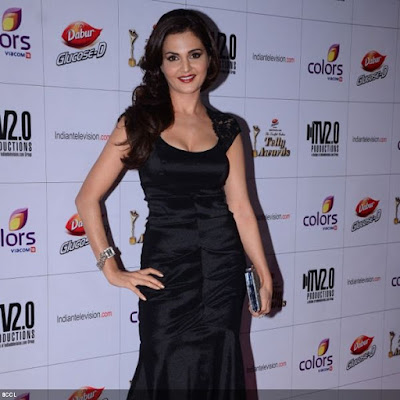 Monica Bedi looked quite a head-turner during the 12th Annual Indian Telly Awards, held in Mumbai.