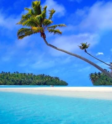 Matira Beach, Bora Bora, Tahiti, Perancis - 10 pantai terindah dunia