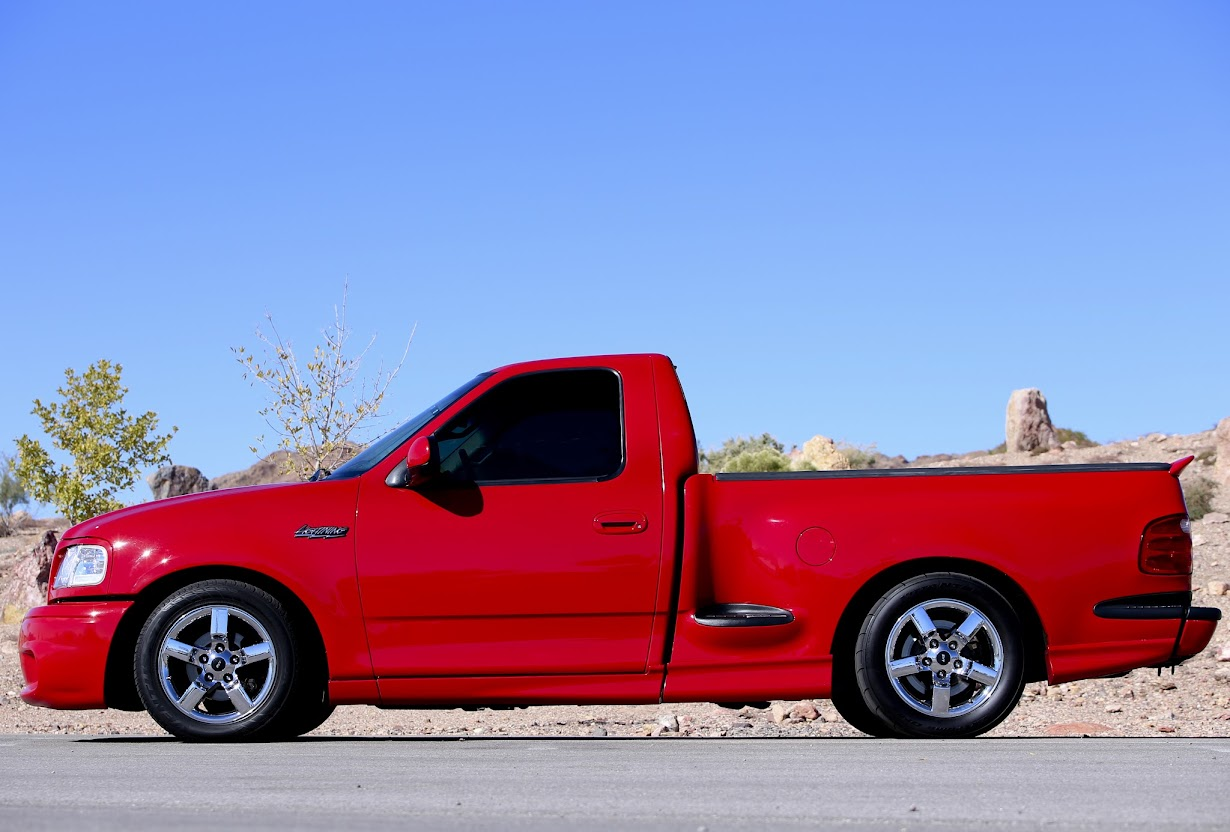 How Much Can An F150 Tow >> 2001 Ford F-150 SVT LIGHTNING #3912 of 6,381 SUPERCHARGED ...