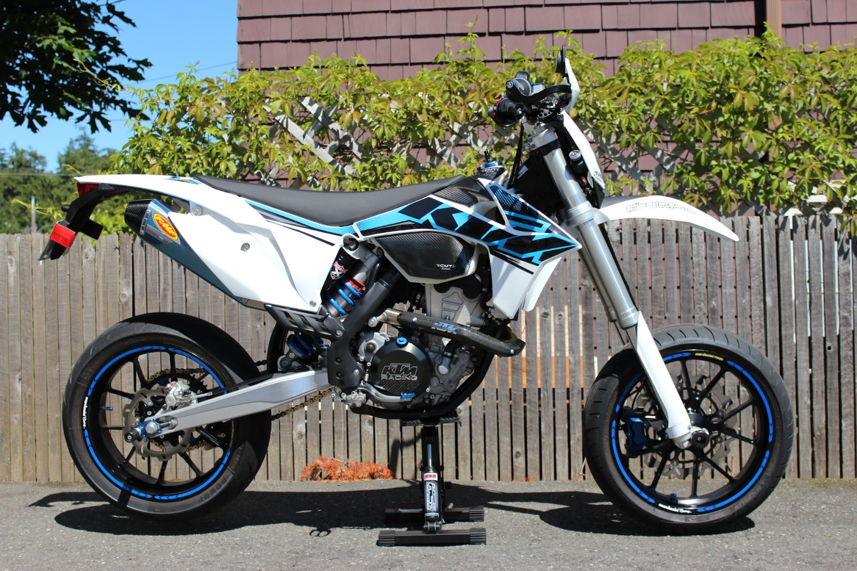 2012 ktm 500 exc..supermoto awesomeness for the streets