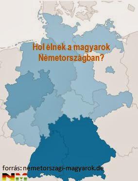 Hol élnek a magyarok németországban
