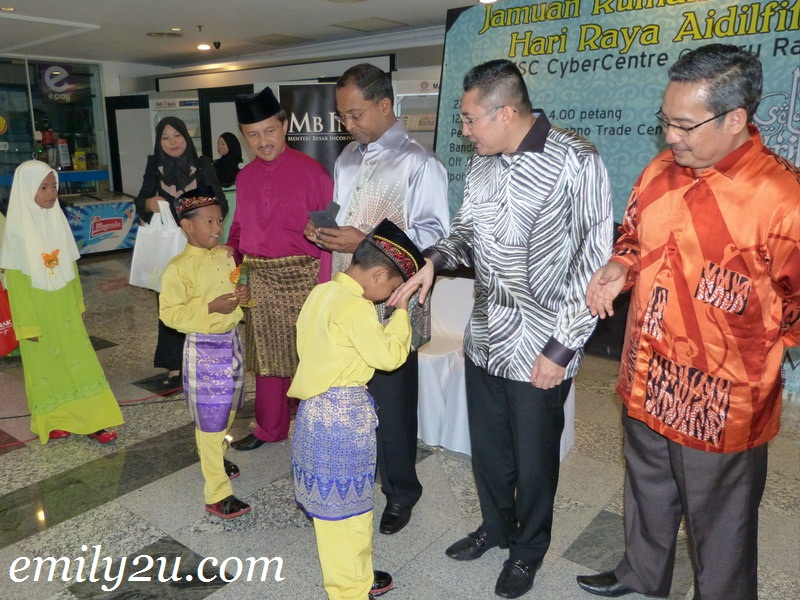 MB Inc. & KPerak Joint Hari Raya Open House