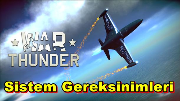 War Thunder PC Sistem Gereksinimleri