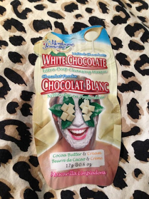White Chocolate Montagne Jeunesse Face Masks