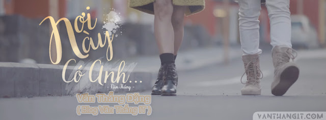 PSD Ảnh bìa nơi này có anh | Sơn Tùng M-TP - VanThangIt.Com