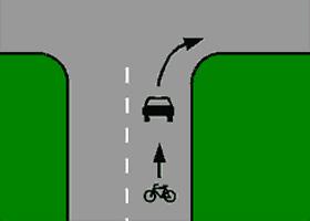 Las bicicletas, más seguras con los coches