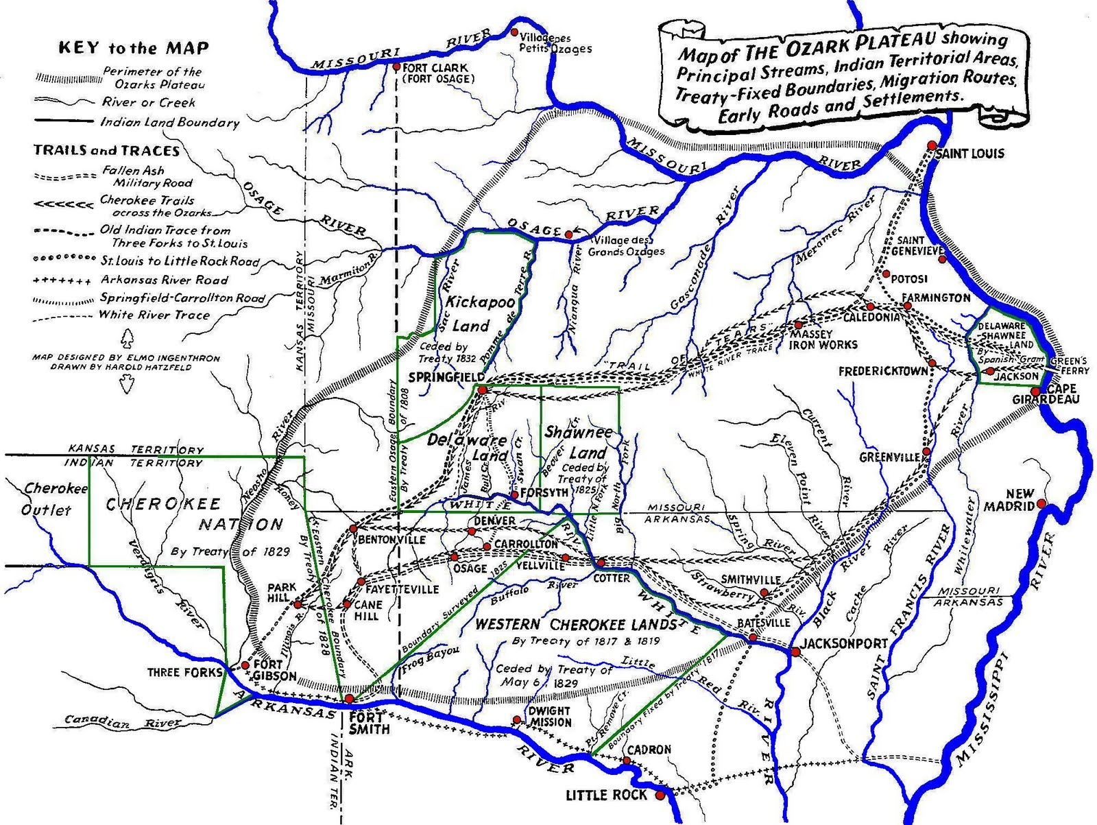 Ozarks History Ruins Of Early Smelters - Ozark plateau on us map