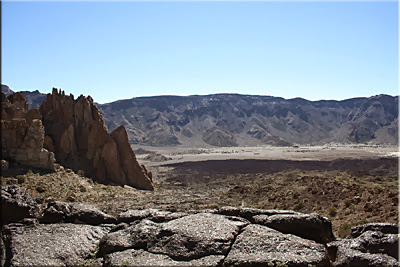 Vistas desde la Cascada de lava o Plateau