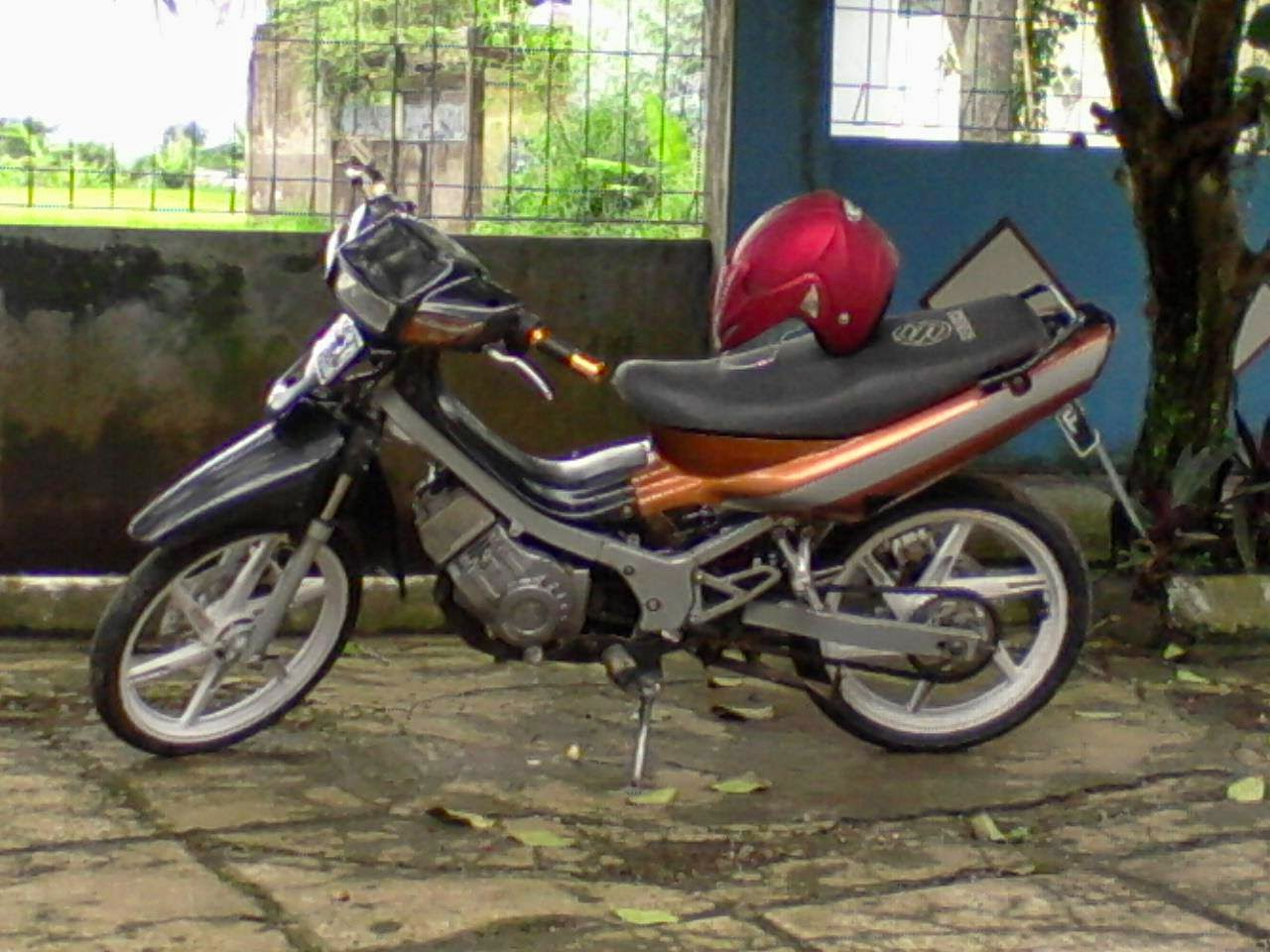 Foto Modifikasi Suzuki Satria 120