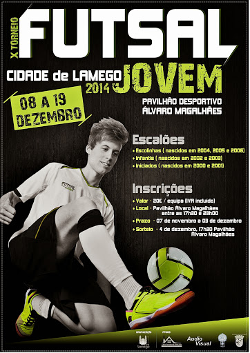 """Talento jovem à prova no Torneio de Futsal """"Cidade de Lamego"""""""