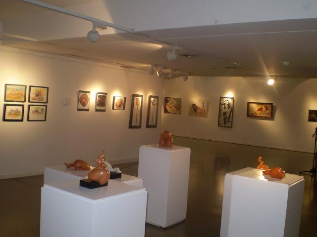 exposición mujheroes edición 2008