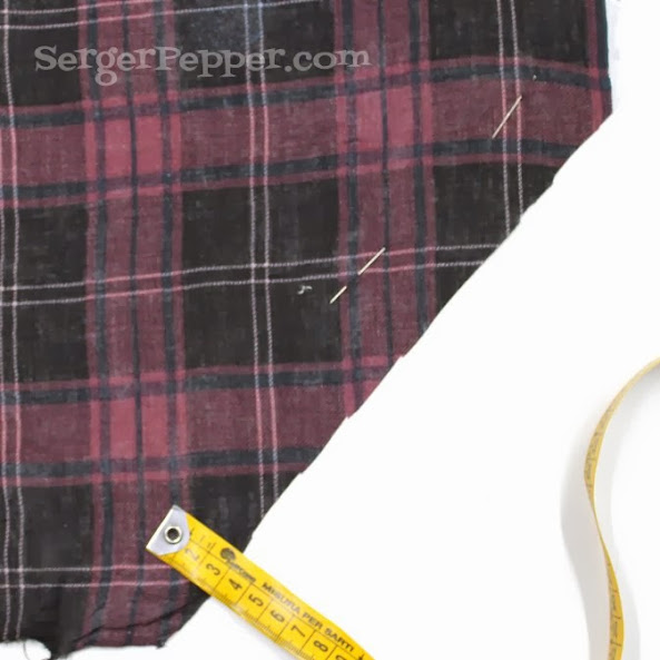 Serger Pepper Tutorial: Bias Cut: Lifesaver, Quick & Practical Trick (feat. Pythagoras)