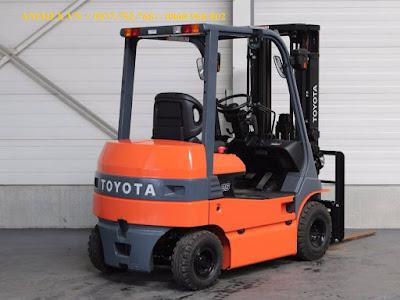 Xe nâng điện Toyota 7FB 8FBN