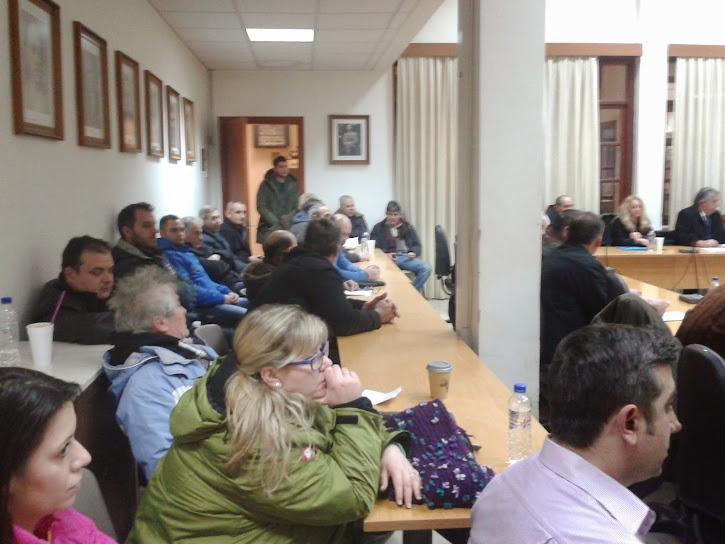 Οργή και αγανάκτηση από πολίτη στο χθεσινό Δημοτικό Συμβούλιο Διδυμοτείχου.
