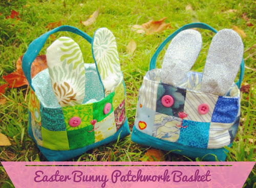 Easter basket sewn up easter crafty projects negle Images