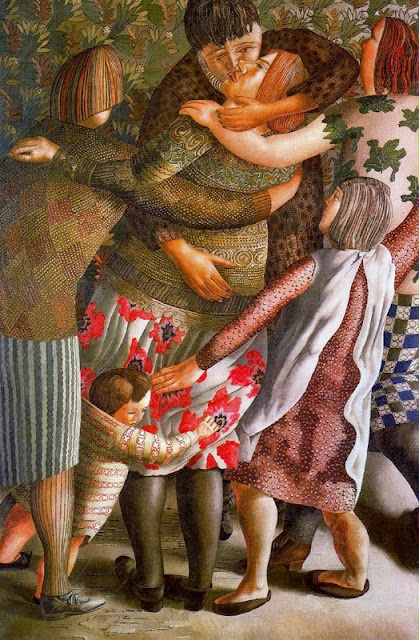 Stanley Spencer - Hilda Welcomed