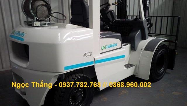Xe nâng chạy xăng gas 3.5 - 5.0 tấn