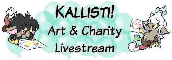 Kallisti! Art and Charity Livestream