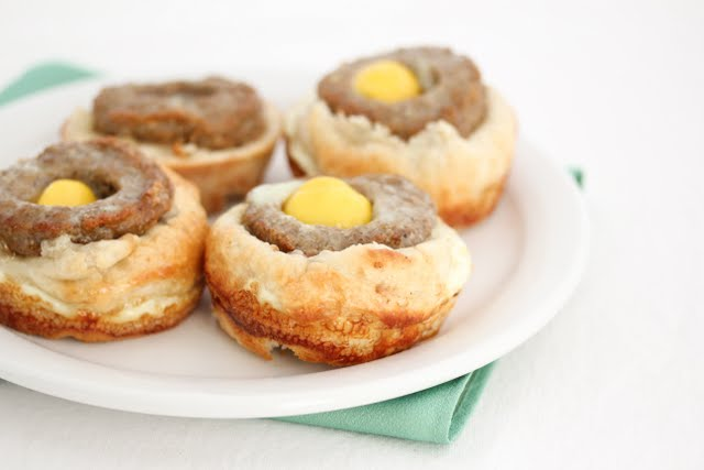 Sausage McBiscuit Cups