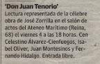 11-11-03. Recorte de prensa del Tenorio. Las Provincias