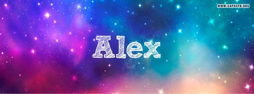 Capas para Facebook Alex