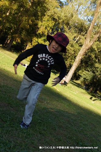 7歳の長男は走るの大好き
