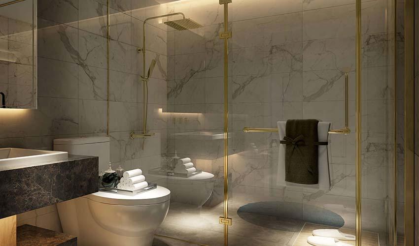 Phòng tắm Liền kề Sunshine City Tây Hồ