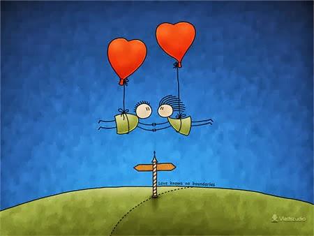 Hình ảnh lãng mạn trong ngày Lễ tình yêu