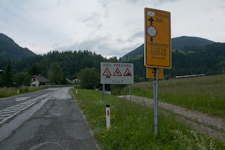 Zapora ceste preko Karavanke