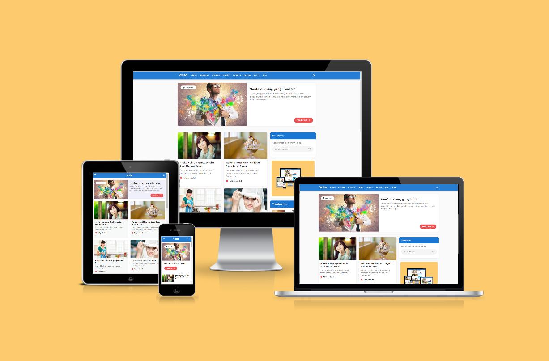 Volta Redesign Responsive Blogger Theme