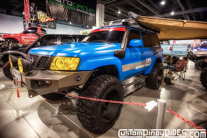 Some of the Best Modified 4x4s of 2013 Manila Auto Salon Custom Pinoy Rides Car Photography Philippines Philip Aragones Nissan Patrol3