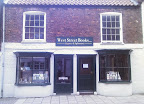 twin shop frontage of bookseller