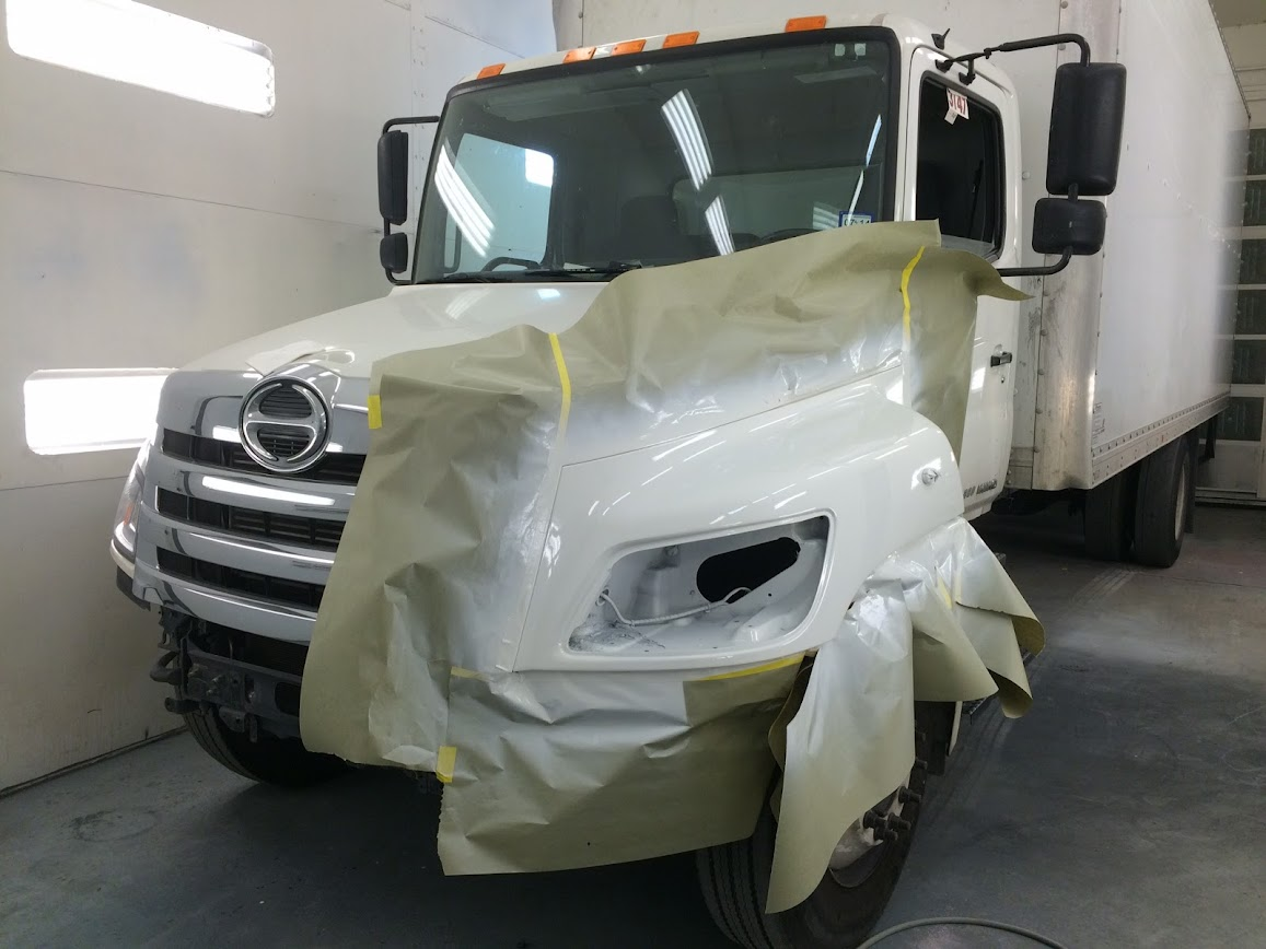 Commercial Truck Paint Services