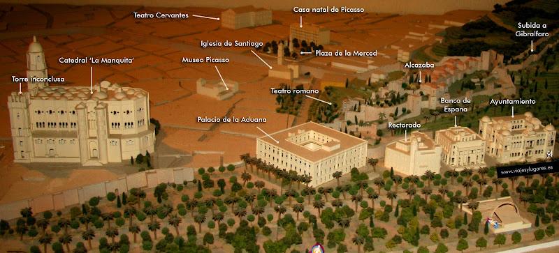 Plano de Málaga