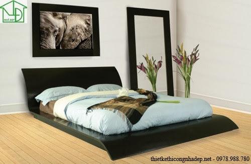 Giường ngủ kiểu dáng cách điệu