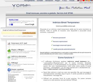 Per Parlare di Web: Indirizzi email temporanei - Yahoo ...