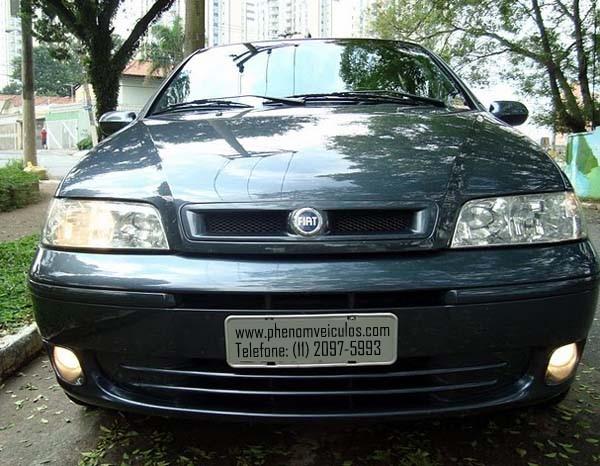 Frente, Fiat Palio 2003 ELX 1.6 16V completo