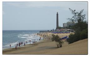 Der Strand von Maspalomas