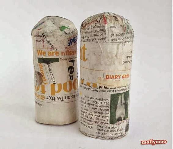 artesanato em papel machê