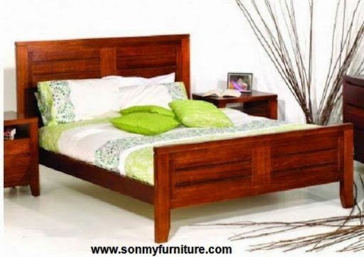 Thiết kế nội thất phòng ngủ với gam màu xanh tươi mát_CONG TY NOI THAT-10