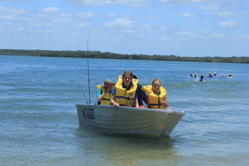 TeamBray in the TeamPercy boat